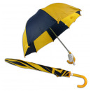 Children Umbrella  Playshoes Navy yellow - ca 70cm