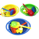wholesale Outdoor Toys: Sand toys Molteni  5 pieces - 3-fold assorted