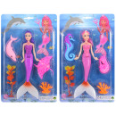wholesale Dolls &Plush: Doll mermaid with accessories 2- times assorted ca