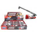 wholesale Models & Vehicles: Fire engine METAL ca 11,5cm