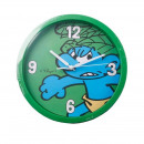 Wall clock Smurfs green about 25 cm Ø
