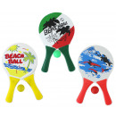 Beachball Set 3-color assorted in the net - ca 33x