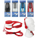 Stereo headphones  4 assorted box ca 18,5x7x