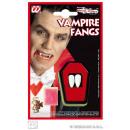 Teeth - Fangs on card ca 12x19 cm
