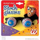 grossiste Articles de fête: Lunettes - verres  de choc avec des yeux mobiles su