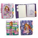 Notebook 3 1- 3-type fille Design - ca