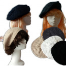 Mütze -  Baskenmütze 4-fach  sortiert - für ...