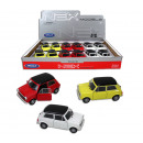 wholesale Models & Vehicles: WELLY Mini Cooper  1300 3-fold assorted - ca 10.5cm