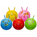 Space hopper with animal face multiple assorted -