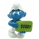 Schleich Smurf Sorry ongeveer 5,5 cm