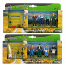 Glow2B - Farm figures with accessories 2-fold sort