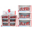 wholesale Toys: Fire-fighting  vehicle METALL  3-fach assorted ca ...