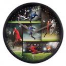 wholesale Clocks & Alarm Clocks: LET'S KICK IT wall clock about 22.5cm