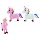 Squeal Unicorn 2 volte assortito circa 22 x 19 cm