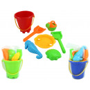 Sand bucket play set 7 times assorted 3 times ...