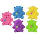 Großhandel Puppen & Plüsch: Bär groß mit Licht 5-farbig sortiert - ca 16cm