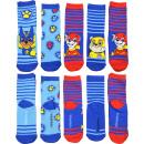 Großhandel Strümpfe & Socken: Socken Paw Petrol 5er Pack Größe 23/26