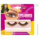 wholesale Toys: Eyelashes black incl glue
