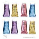 Glitter hair gel 2 tubes a 14ml - gold and silver
