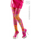 'Flower' collant colorati - One Size Fits