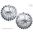 groothandel Windlichten & lantaarns: Lantern -  Dekolaterne  Metallic zilver 2 ...