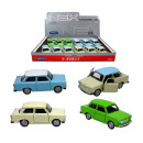 WELLY Trabant 601 4x assorted - Model car - c