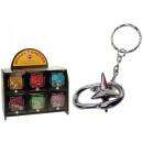 grossiste Cadeaux et papeterie: Puzzle 6-fach  sorte avec porte-clés