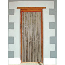 wholesale Curtains & Drapery: Door curtain - foil silver ca 2x1m