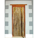 wholesale Curtains & Drapery: Door curtain - foil gold ca 2x1m