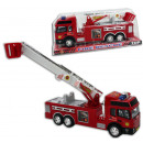 Fire engine with extendable ladder, approx 29.5 cm