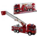 Feuerwehrauto mit  ausziehbarer Leiter, ca 29,5cm