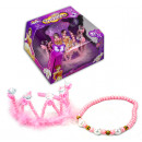 wholesale Toys: Princess set 2pcs  diadem and  necklace in box - ...