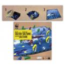 WWF Delfin solitaire bordspel doos ca 21
