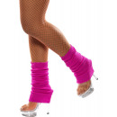 Leg warmers warm  pink - One Size Fits All