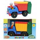LENA robusta Rifiuti camion 2x aasortito -