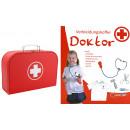 Knorrtoys  Verkleidungskoffer Doktor 6 teilig