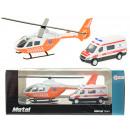 Hélicoptère de sauvetage avec ambulance METAL