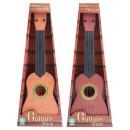 Chitarra di plastica di legno di colore ca 55 cm