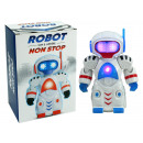 wholesale RC Toys: Robot with light, sound and movement - about 19cm