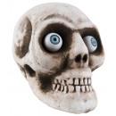 Skull met oog ca 17x15cm