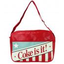 COKE AMERICANA bag - ca 37x28x10cm