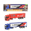 WELLY 1:64 truck forwarder with trailer 2-fold sor