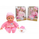 Baby doll 2- times assorted with water bottle - ap