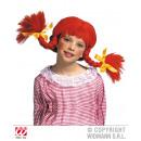 Wig - Naughty Girl orange braids for children