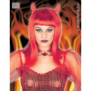 wholesale Dolls &Plush: Wig - devilicia devil red with horns