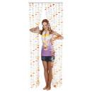 groothandel Vitrage & Gordijnen: Deur Gordijn - Hawaii ca. 80x205cm