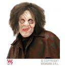 Mask - Horror grimas gebochelde met haar