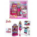 MATTEL Barbie  supermarket and doll - Box approx 33