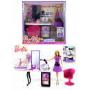 MATTEL Barbie hair  salon and doll - Box approx 33x