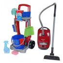 wholesale Vacuum Cleaner: Cleaning trolley with vacuum cleaner for children